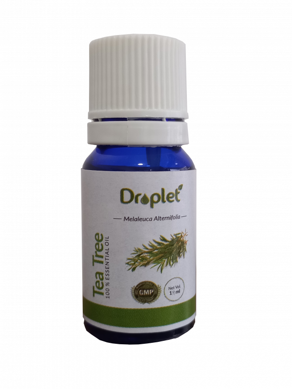 tea tree essential oil by droplet care