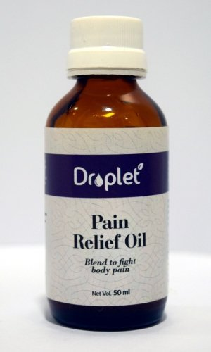 pain relief oil by droplet