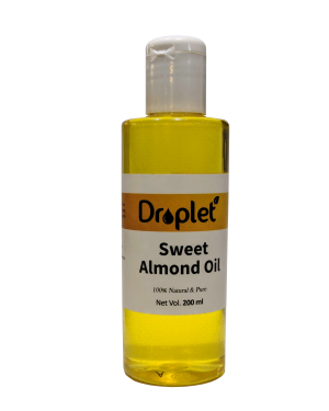 sweet alomond oil by droplet care