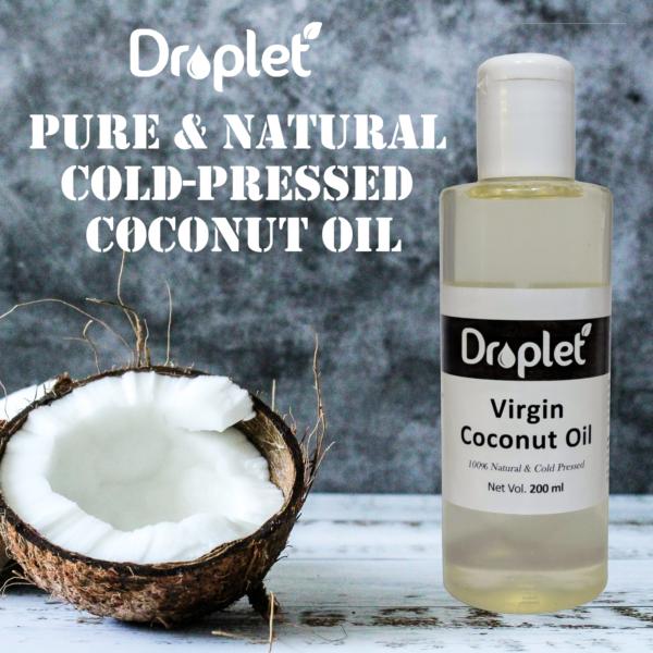 coldpressed virgin coconut oil