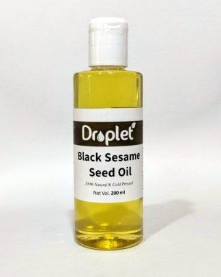 black sesame oil