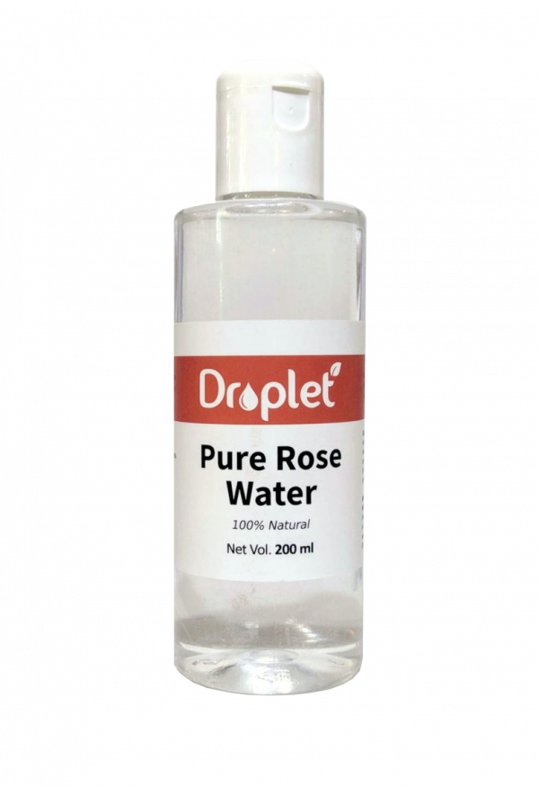 natural rose water by droplet care