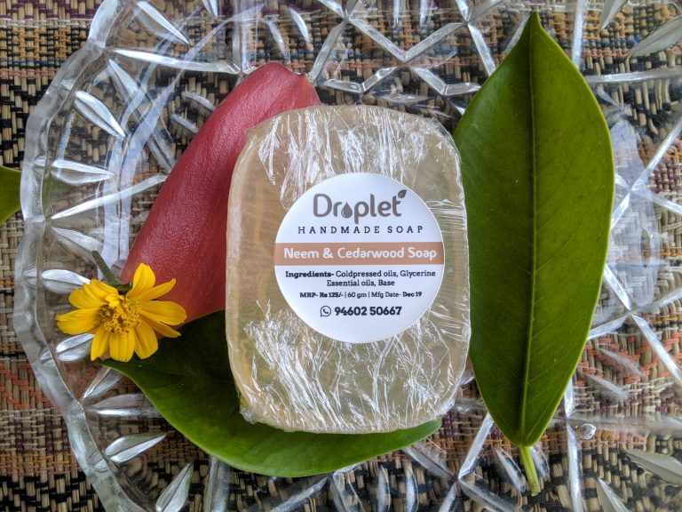 safe handmade soap from Neem